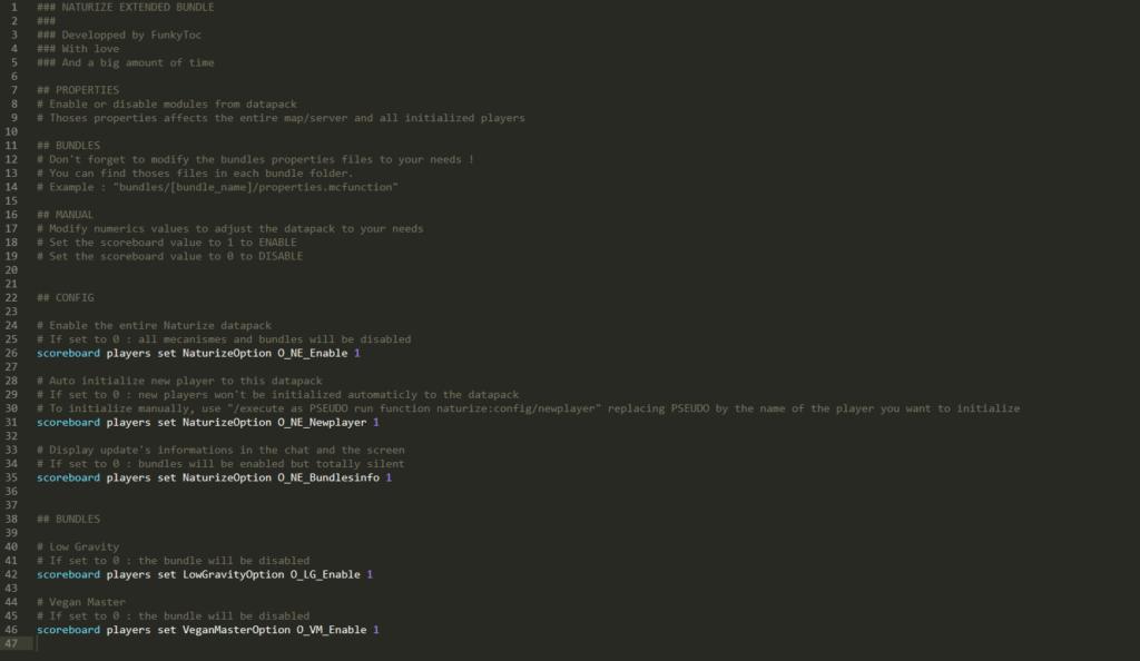 exemple de fichier properties.mcfunction